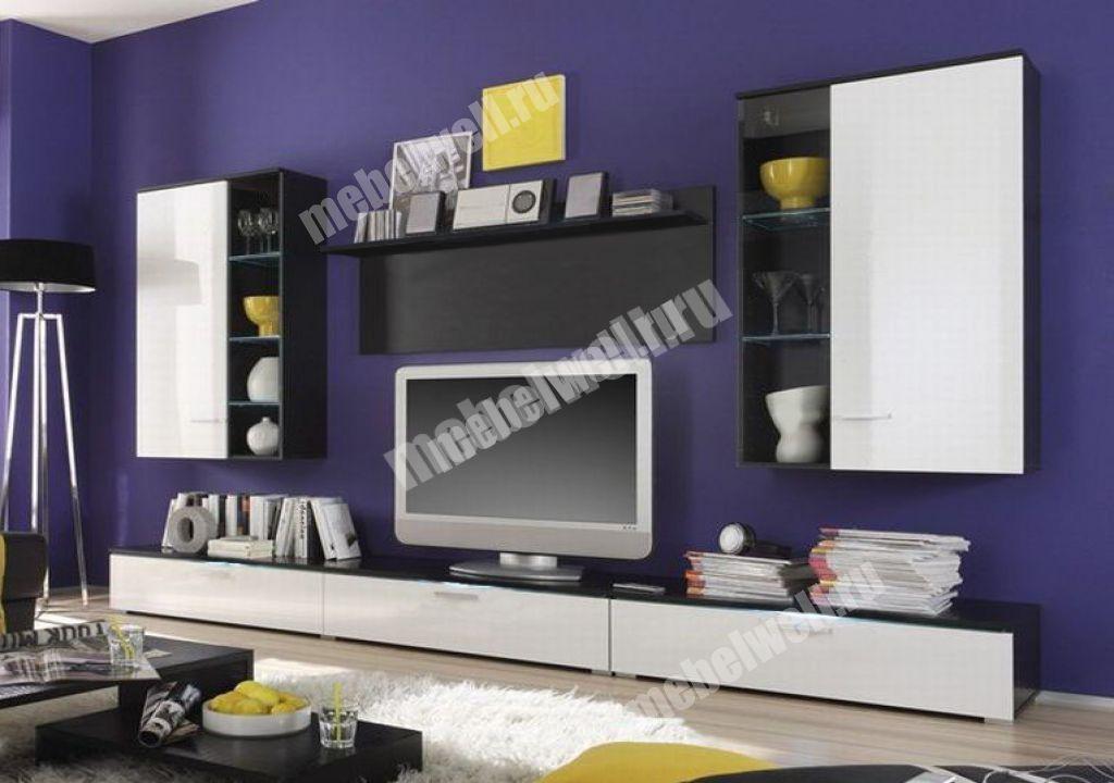 """Мебельная стенка фабриано-1 в интернет-портале """"алеана-мебел."""