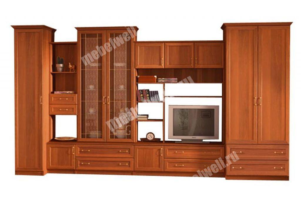 Шкафы в гостиную дешево корпусная мебель.