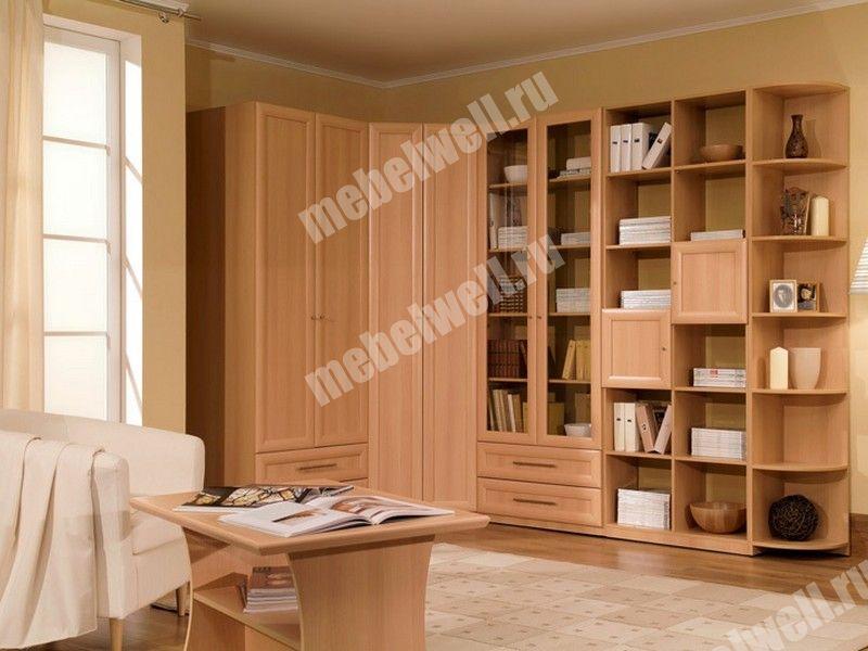 Библиотека флора узкий шкаф для книг, кресло-кровать ниагара.